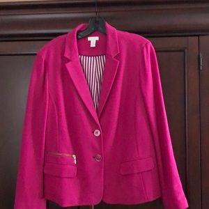 Chico's Pink jacket 2 button